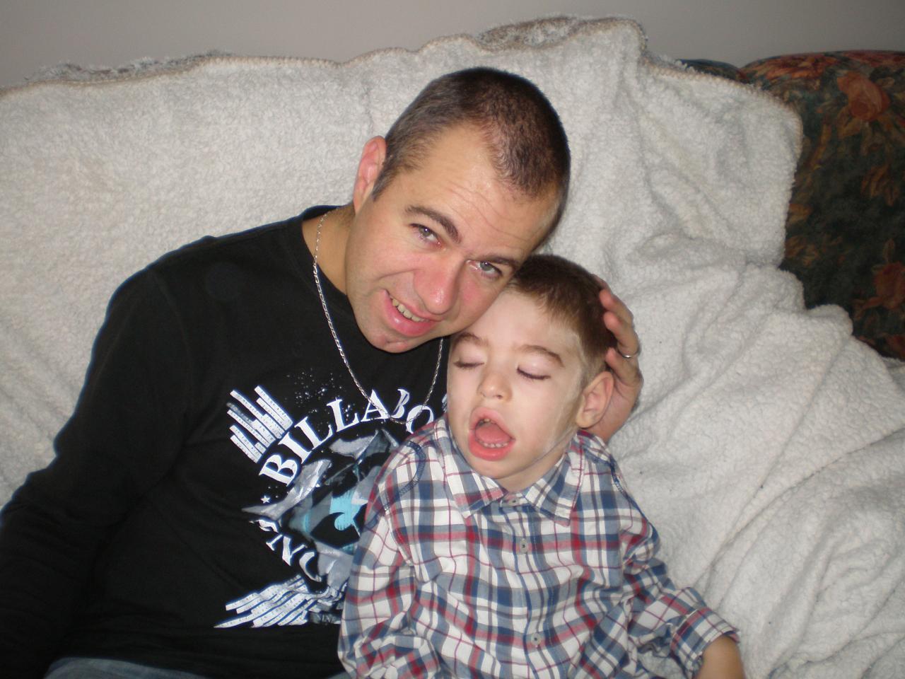 Dylan et papa